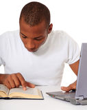 Student studying Royalty Free Stock Image