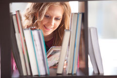 Free Student Studying In The Library Royalty Free Stock Photo - 40766425