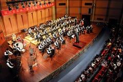 Student symphonic band Royalty Free Stock Photo