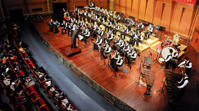 Student symphonic band Royalty Free Stock Images