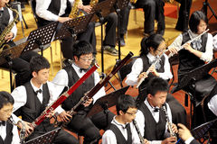 Student symphonic band Stock Photos