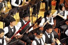Student symphonic band Stock Photos