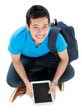 Student with tablet pc Stock Photography