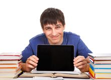 Student with a Tablet Royalty Free Stock Photo