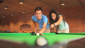 Student teaching pool Royalty Free Stock Images