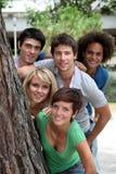 Student team portrait Stock Images