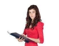 Student teen girl Royalty Free Stock Photos