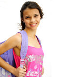 Student teenage girl Stock Photos