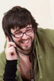 Student telephone Stock Image