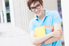 Student with textbooks Royalty Free Stock Photos