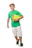 Student with textbooks Royalty Free Stock Image