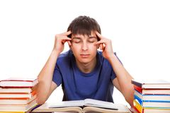 Student with a Books Royalty Free Stock Photos