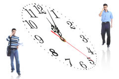 Student and time Stock Photo