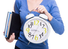 Student. Time. Stock Image
