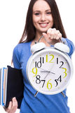Student. Time. Stock Photography