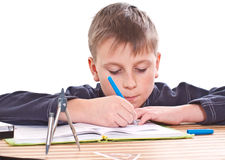 Student to do homework Stock Photo