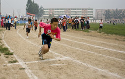 Student Track and Field Games Royalty Free Stock Photography