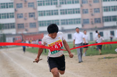 Student Track and Field Games Stock Photography