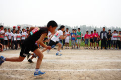Student Track and Field Games Royalty Free Stock Photo