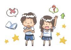 Student uniform illustration vector Stock Photo