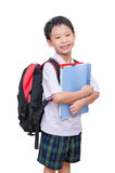 Student in uniform Royalty Free Stock Image