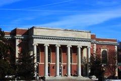 Student Union. Building at Duke University, Durham North Carolina USA Royalty Free Stock Images