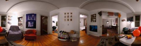 student w domu Obrazy Royalty Free