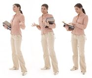 Student woman Stock Images
