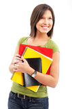 Student woman. Royalty Free Stock Photography