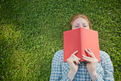 Student Woman with a Book Stock Photo