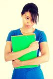 Student woman with depression Stock Photography