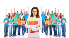 Student woman. Stock Photography