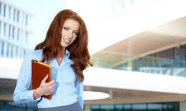 Student woman Royalty Free Stock Photography