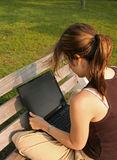 Student Working stock photography