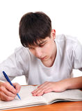 Student writing Royalty Free Stock Image