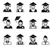 Studenta uniwersytetu skalowania avatar ilustracji