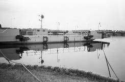 Studentbal på den vistula floden. Arkivbild