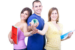 Studentc from whole planet Stock Photo