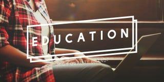 Studente accademico Concept della scuola di istruzione Immagini Stock