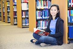 Studente asiatico del collage fotografie stock libere da diritti