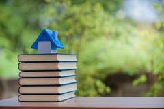 Studente Book Education per la scuola fotografia stock libera da diritti