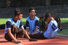 Studente con le inabilità Fotografie Stock Libere da Diritti