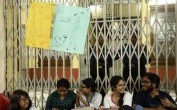 Studente custodetto Fotografia Stock Libera da Diritti