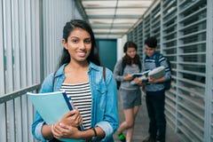 Studente della High School Fotografia Stock Libera da Diritti