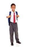 Studente della scuola elementare Fotografie Stock