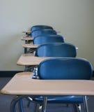 Studente Desks fotografia stock