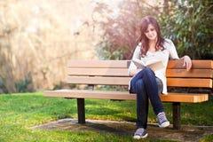 Studente di college Fotografia Stock