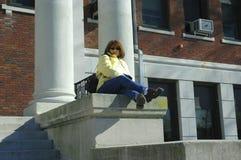 Studente di college 2 Fotografia Stock Libera da Diritti