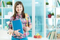 Studente di college Immagine Stock