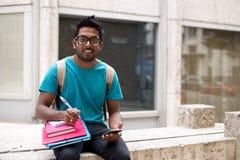 Studente di college Fotografie Stock Libere da Diritti